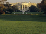 Scenic View of the White House  Washington  DC