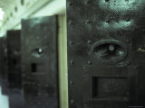Steel Cell Block Doors at the Infamous Historical Pentridge Prison  Australia