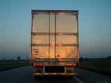 Truck on I-80 Westbound