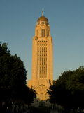 The State Capitol Building in Lincoln  Nebraska