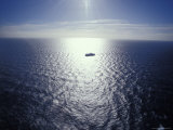 The Seismic Vessel Geco Beta Searches the Vast Ocean for Oil and Gas  Bass Strait  Australia