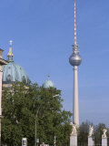 The Second Tallest Radio Tower in Europe Looms over Berlin  Germany