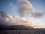 Storm Clouds Rolling in over Anaho Bay  French Polynesia