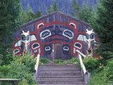Saxman Totem Park Communal House  Alaska