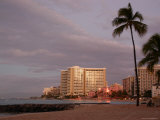 Sunrise at Waikiki Beach  Hawaii