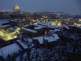 Vatican City in the Snow