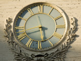 The Clock Face on Independence Hall