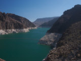 The Waters of Lake Mead Are Contained by the Hoover Dam