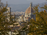 View of Duomo Santa Maria del Fiore  Florence  Italy
