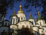 Santa Sophia Church Exterior  Kiev  Ukraine