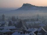 Spis Castle above the Slovak Village of Spisske Podhradie