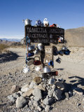 Teakettle Junction Sign Decorated in Teakettles  California