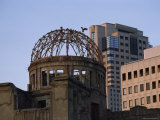 The Atom Dome  Which Was at the Epicenter of the Hiroshima Bombing  Japan