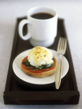 Egg Florentine (Poached Egg Florentine Style)  Cup of Coffee