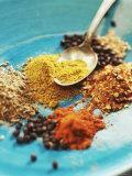 Spices: Turmeric  Paprika  Allspice  Coriander  Chili