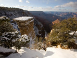 Winter Time on the South Rim of the Grand Canyon from Grandview Point
