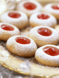 Jam-Filled Christmas Biscuits