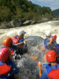 Whitewater Rafters Take on the Upper Gauley River