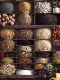 Spices for Baking Bread in Typesetter&#39;s Case