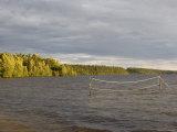 Volleyball Net Underwater