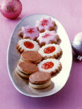 Biscuits: Nougat Cookies  Jam Biscuits  Raspberry Stars