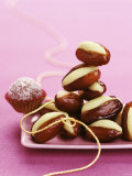 Dates Stuffed with Pistachio Marzipan