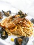 Spaghetti Di Frutti Di Mare (Spaghetti with Seafood)