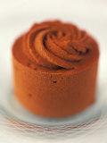 A Small Chocolate Ice Cream Cake