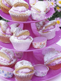 Butterfly Buns on Tiered Stand (UK)