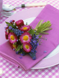 Place-Setting with Spring Posy