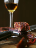 Chorizo and Glass of Sherry