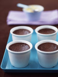 Pot Au Chocolate (Baked Chocolate Mousse)