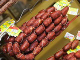 Chorizo  Red Paprika Sausage (Spain)  Hanging up for Sale