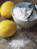 Two Lemons and Flour