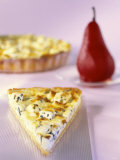 Tarte Auvergne with Roquefort