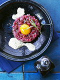 Beef Fillet Tartare with Wasabi Bearnaise