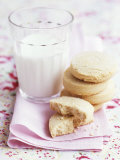 Shortbread with a Glass of Milk