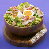 Mixed Salad with Chicken Breast and Egg