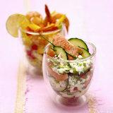 Cucumber and Grapefruit Salad  Mango and Shrimp Salad