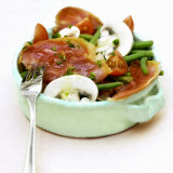 Green Bean  Bacon and Mushroom Salad