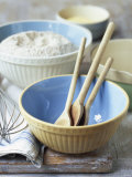 Baking Bowls  Jug  Wooden Spoons  Whisk
