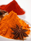 Curry Powder and Paprika  Star Anise