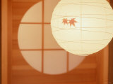 Paper Lampshade in Japanese Room