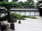 Rock Garden  Tofuku-Ji Temple  Kyoto  Japan