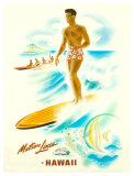 Matson Lines in Hawaii  Surfer