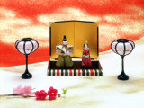 Hina Dolls for the Girls' Festival  3rd of March  Japan