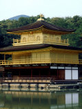 Kinkaku (Golden Pavillion) in the Garden of Rokuon-Ji Temple  Kyoto  Japan