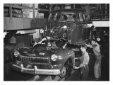 Mercury Automobile Assembly Line  1946