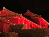 Shuri Castle by Night