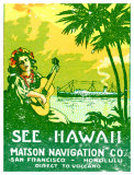 See Hawaii  Matson Navigation